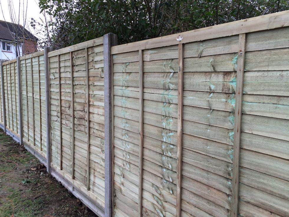fencing bedhampton