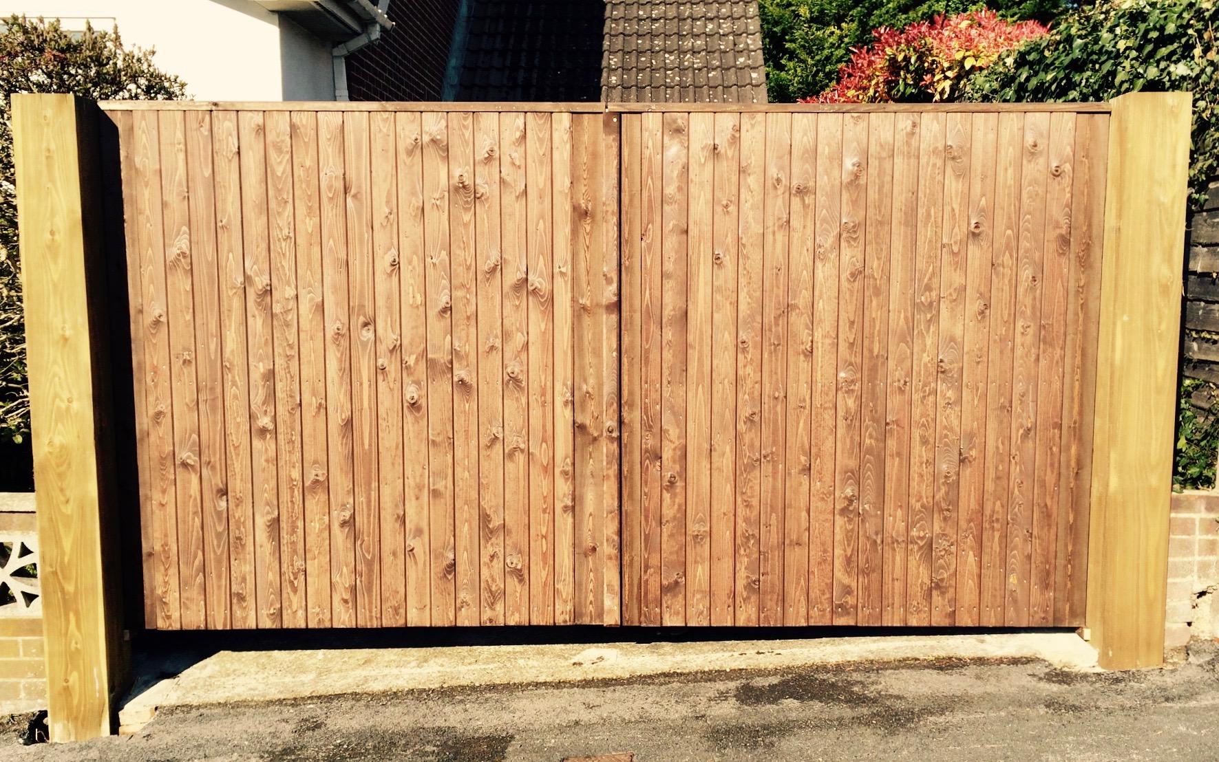 driveway gate bedhampton